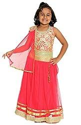 My Lil Princess Red Lehenga Choli