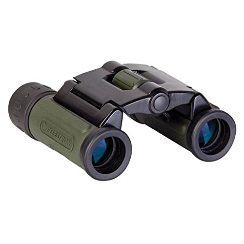 Celestron Elements 8X21 Compact Binocular With Neck Strap And Carrying Case