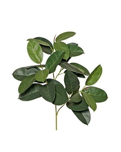 Manojo De Ficus Robusta Artificial