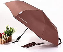 HENNISONreg High Quality Fully Automatic Umbrella 3 Fold Auto OpenClose Umbrella Windproof Rainproof