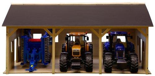 kids-globe-610340-batiment-de-ferme-pour-3-tracteurs-55-x-77-x-38-cm