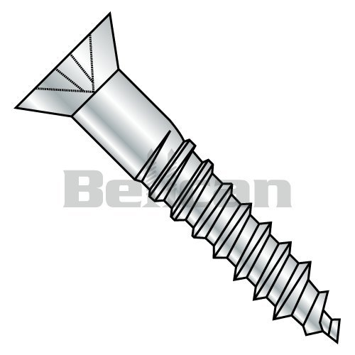 Ships Free in USA #10-24 X 3//4 304 Stainless Steel 18-8 One-Way Slotted Drive 100pcs Binding Posts Serrated