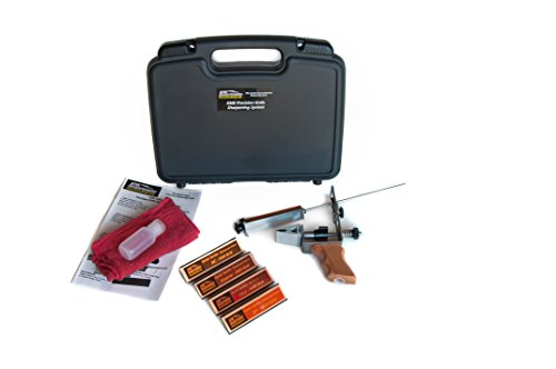 Great Deal! KME Precision Knife Sharpener System with 4 Gold Series Diamond Hones – Model KF-D4