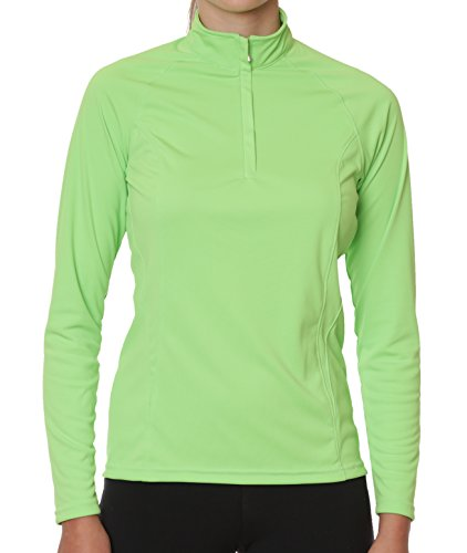Tuscany Long Sleeved Sun Protective Shirt by NoZone in Limeaid, Small