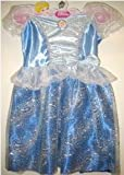 Disney Princess Sparkle Blue Dress - Cinderella 4-6X