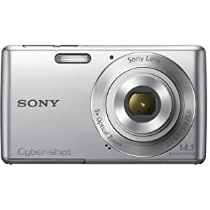 Sony Cyber-shot DSC-W620 14.1 MP Digital Camera with 5x Optical Zoom and 2.7-Inch LCD (Silver) - New Model