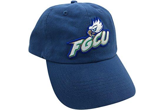 fgcu florida gulf coast eagles blue hat cap