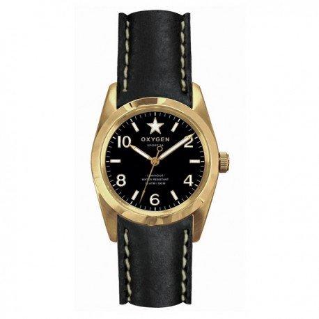 Montre OXYGEN Lingot 34 femme noir - EX-S-LIN-34-CL-BL