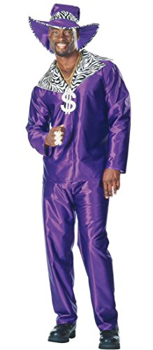 Mac Daddy Pimp Costume - Adult Std.