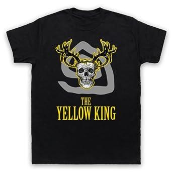 True Detective The Yellow King Mens T-Shirt, Black, 2XL