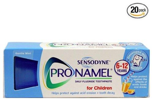 20 Packs of Sensodyne Pronamel Children Daily Fluoride