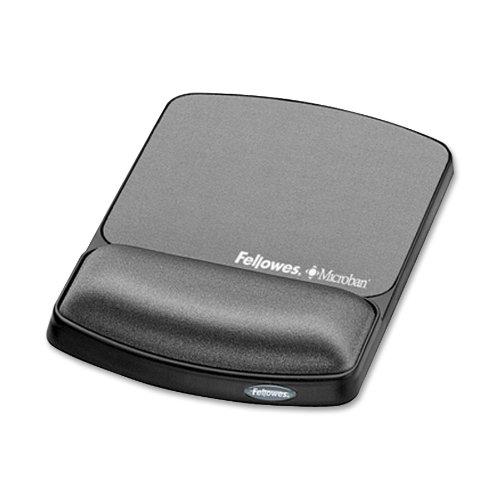 Gel Wrist Rest & Mousepad W/Microban - Graphite