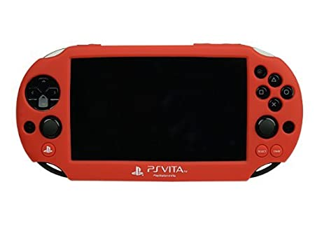 PS Vita 2000 Silicone Skin - Red by PDP