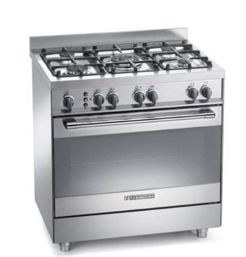 Cucina a Gas Prezzo: Cucina a gas Tecnogas Heavy Duty PTV898XS 80x60 ...