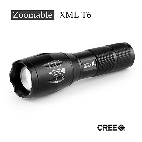 Ultrafire E17 Cree Xm-L T6 Cree Led Torch Zoomable Cree Led Flashlight Torch Light For 3Xaaa Or 1X18650