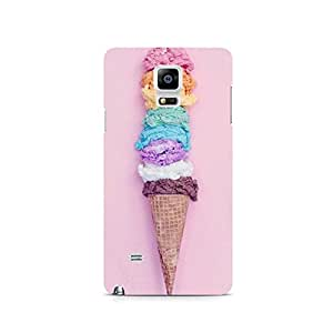 TAZindia Designer Printed Hard Back Case Cover For Samsung Galaxy Note 4