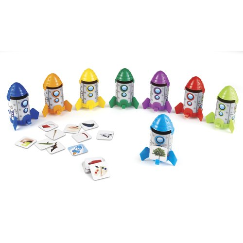 Learning Resources Rhyme And Sort Rockets front-63472
