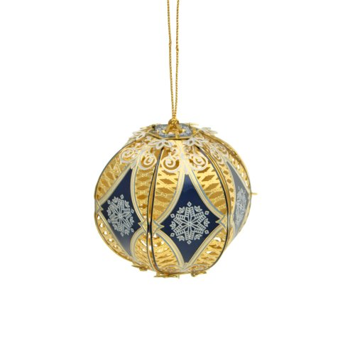 ChemArt 3D Filigree Ball Ornament