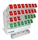 Medcenter 70356 31DAY Vitamin Organizer Reminder System