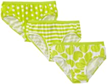Hanes Girls 7-16 3 Pack Hipster, Assorted, 8