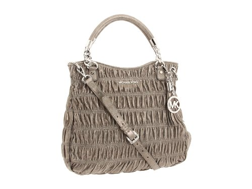 Michael Kors Webster Large Satchel Nickel Metallic