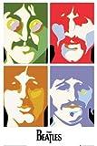 ポスター■THE BEATLES ビートルズ / sea of science ■ミュージック、お部屋、お店のデイスプレイに!模様替え,インテリア,イメージチエンジ
