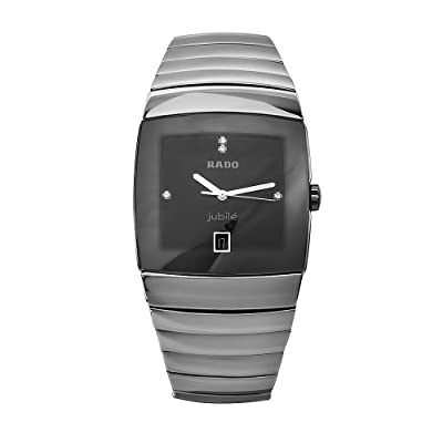 Rado Men's R13777702 Sintra Black Dial Ceramic Watch