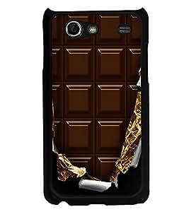 Printvisa Ultra Chocolate 2D Hard Polycarbonate Designer Back Case Cover for Samsung I9070 Ga...