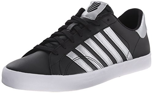 K-Swiss Women's Belmont SO Fashion Sneaker, Black/Crystal, 8.5 M US