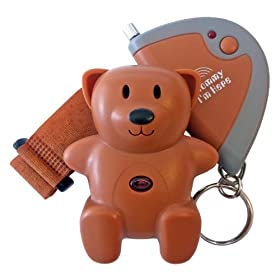 儿童防走失报警器Mommy I'm Here cl-103br Child Locator Brown $17.99