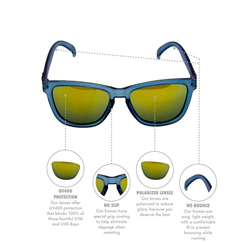 8ba7e6a3bd goodr RUNNING SUNGLASSES - No Slip