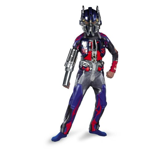 Deluxe Optimus Prime Transformers Child Costume