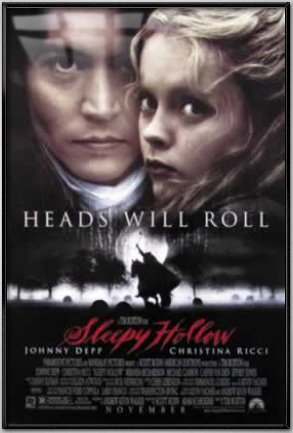 Sleepy Hollow - Framed Movie Poster (Regular) (Size: 27