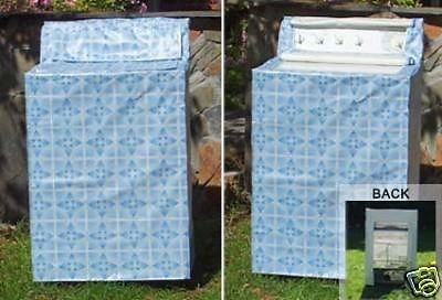 Washer Saver Slip Cover with Easy Access From Top and Front 27 in Wide - CHOOSE YOUR COLOR/PATTERN