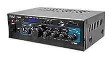 buy Pyle Ptau55 Stereo Power Amplifier With 2 X 120 Watt Usb/Sd Card Readers
