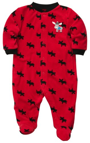 Carter'S Baby Boys Micro Snap - Moose Newborn front-1079763