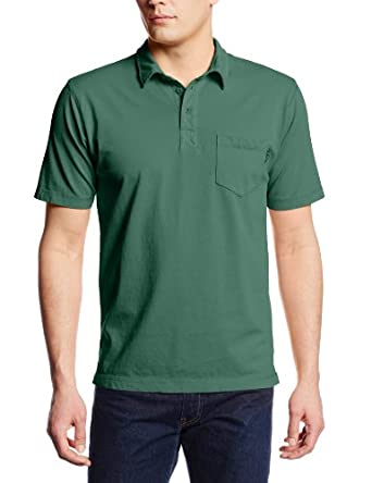 Woolrich Men's First Forks Polo, Bottle Green, Small
