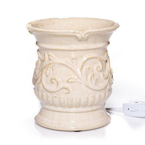 Yankee Candle Everyday Ceramic Antique Cream Electric Wax Melts Warmer Electric Wax Melts Warmer (Electric Candle Tart Warmer compare prices)