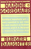 Burger's Daughter (0140055932) by Nadine Gordimer