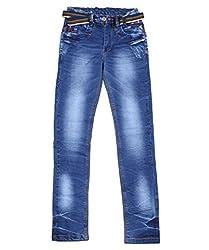 DUC Boy's Denim Light Blue Jeans (kd11-lb-36)