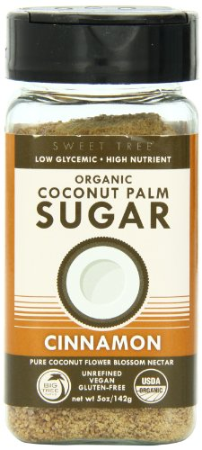 Big Tree Farms Coconut Palm Sugar Shaker ,Cinnamon,