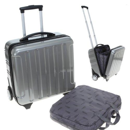 FABRIZIO Trolley PROTECT Laptoptrolley Hartschale