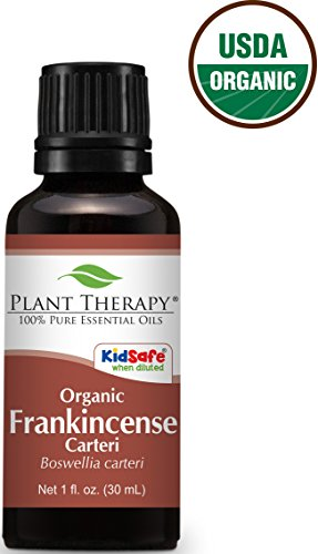 USDA Certified Organic Frankincense carteri Essential Oil. 30 ml. 100% Pure, Undiluted, Therapeutic Grade.