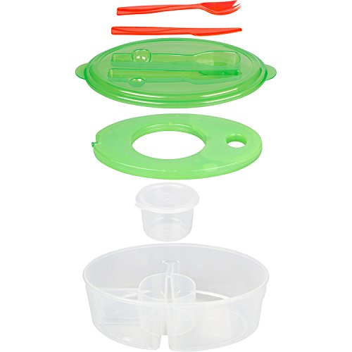 SALAD TO GO - 6 PIECE SALAD BOWL SET