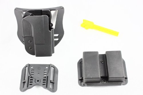 Blade-Tech Revolution Combo Pack (Holster, DMP, T-Barrel) (Black) (SIG 228/229/229R/245, Right Hand)