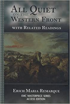 What factors/events influenced Erich Maria Remarque's writing of All Quiet on the Western Front?