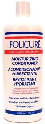 Folicure Conditioner Moisturizing 32 oz. (3-Pack) with Free Nail File