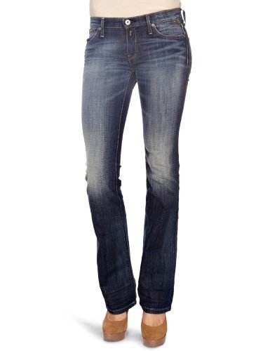 Replay W442H.335 Radell Boot Cut Women's Jeans Denim W24 INXL32 IN