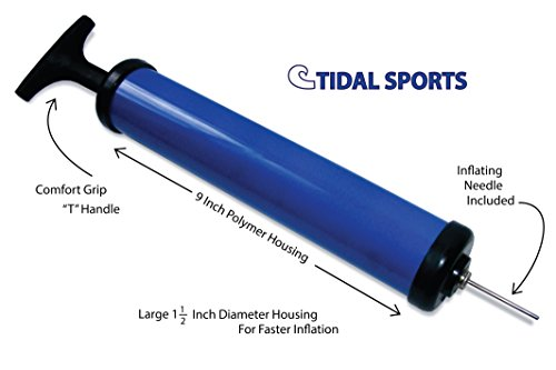 Ball Pump with Needle for Basketball Soccer Football and Other Air Filled Sports Balls, Toys and Accessories.