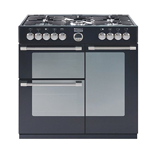Stoves Sterling 900GT Black 90cm Gas Range Cooker